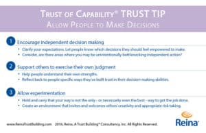 TRUST-TIP-Allow-People-To-Make-Decisions