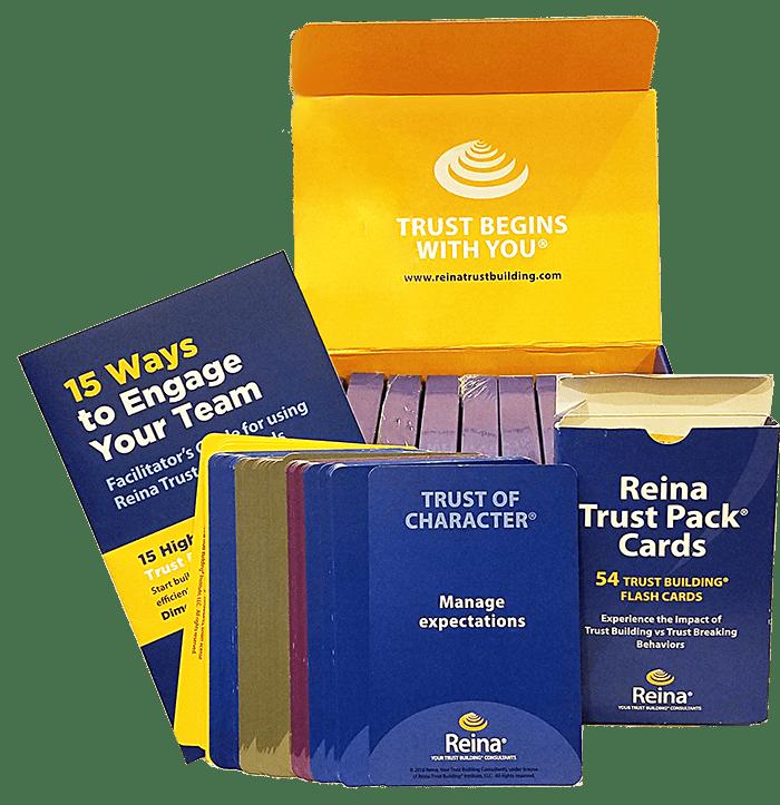 Trust Pack Card Kit for use in Reina programs